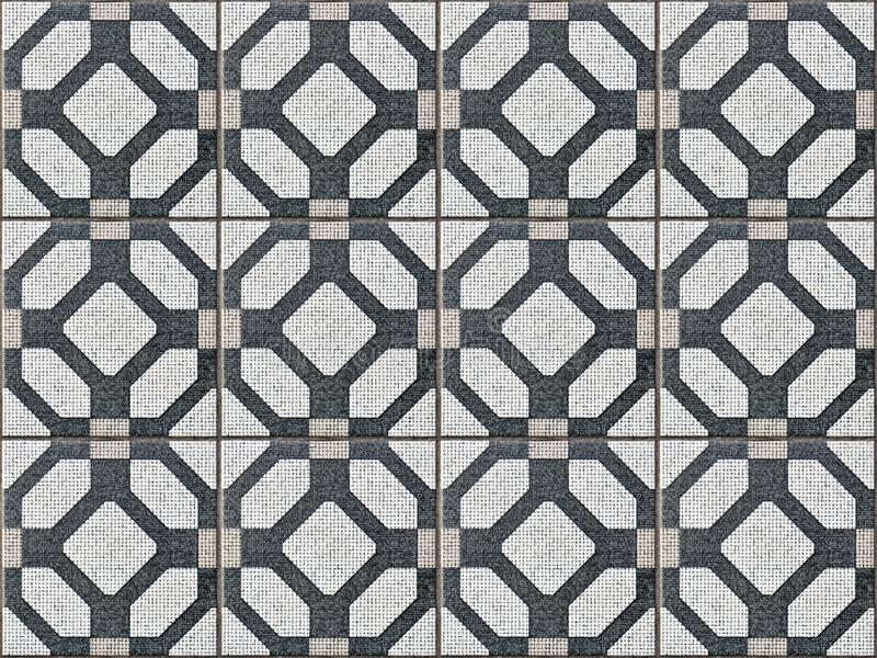 Tile ceramic with seamless and geometric shapes. vector illustration