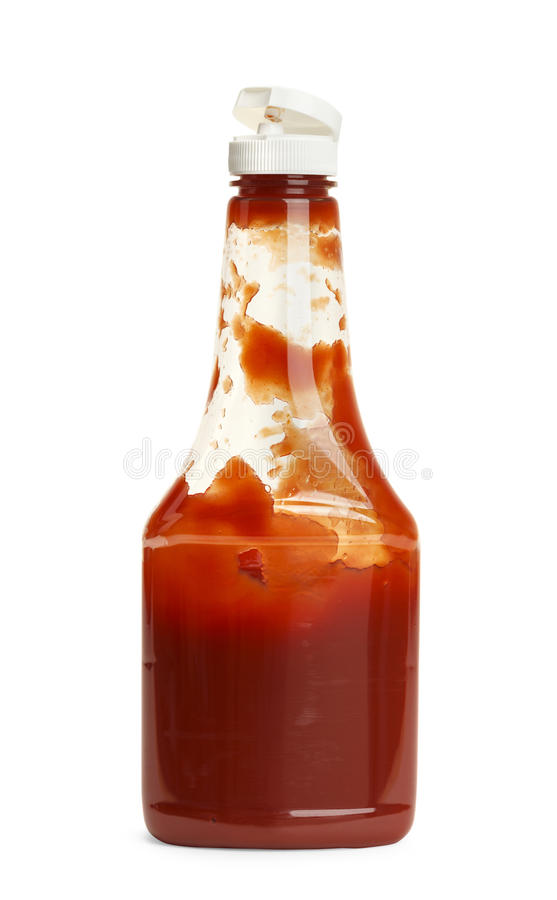 Free Used Ketchup Royalty Free Stock Images - 41043169