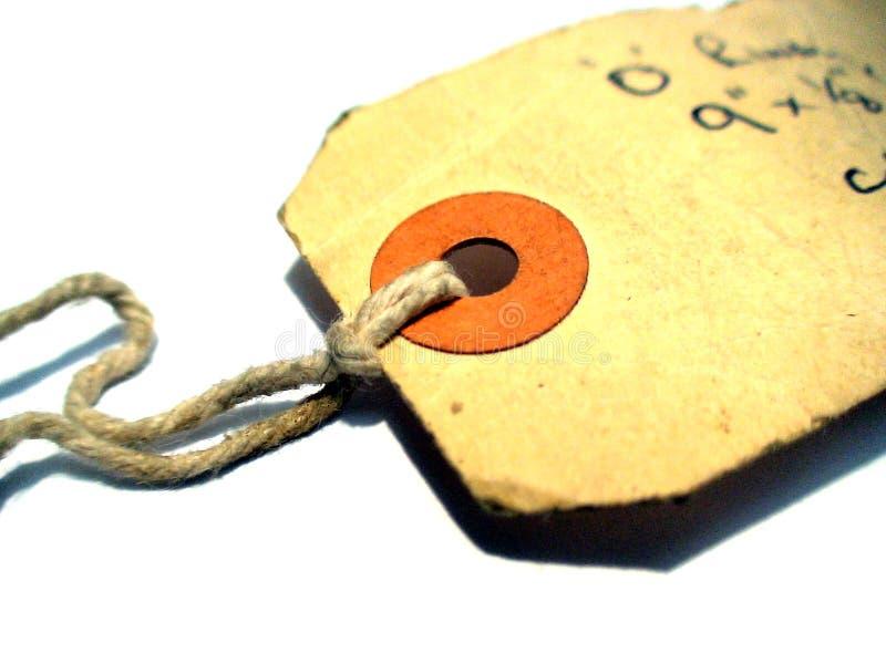 Used_label_9 immagini stock libere da diritti