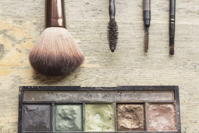 Used Makeup Kit stock photography