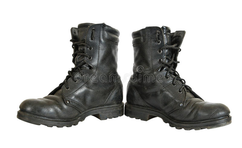 Download Used military boots stock photo. Image of army, clothing - 22556478