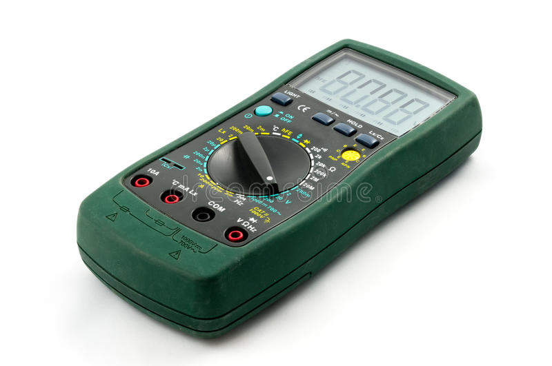 Download Used multimeter stock image. Image of electronics, industry - 24742865