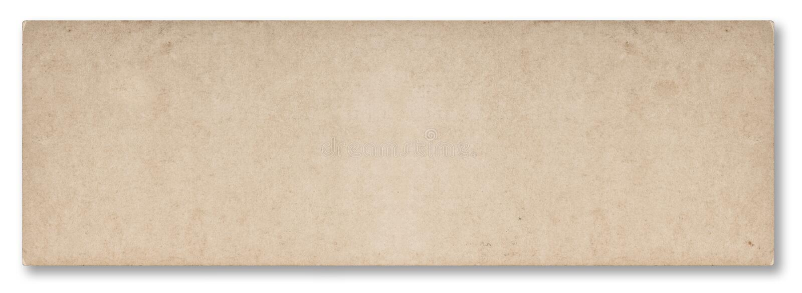 Used news paper texture isolated white background royalty free stock photo