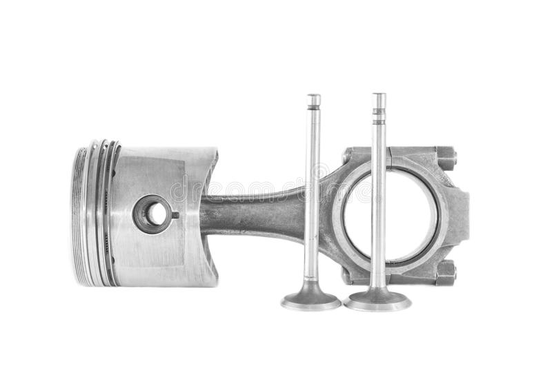 Download Used Piston With A Rod And Valves Isolated Stock Photo - Image: 28434180