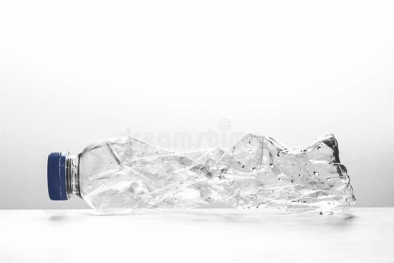 Used plastic bottle for recycling royalty free stock photography