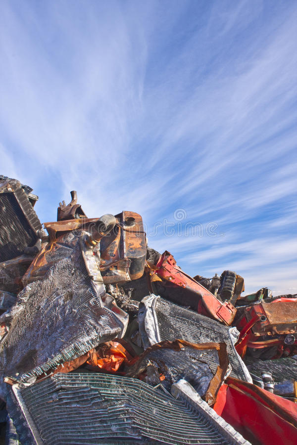 Download Used Radiators stock image. Image of pile, heap, automobile - 18293847