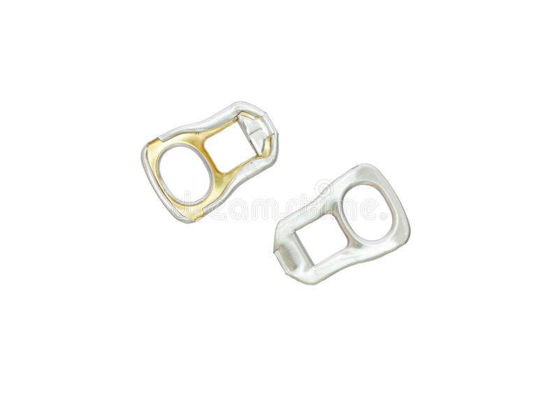 Used ring pull stock images