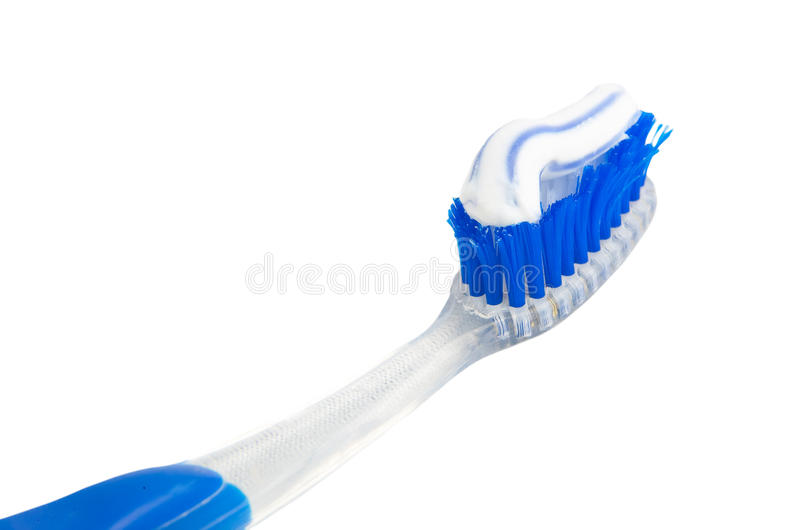 Used tooth brush royalty free stock photography