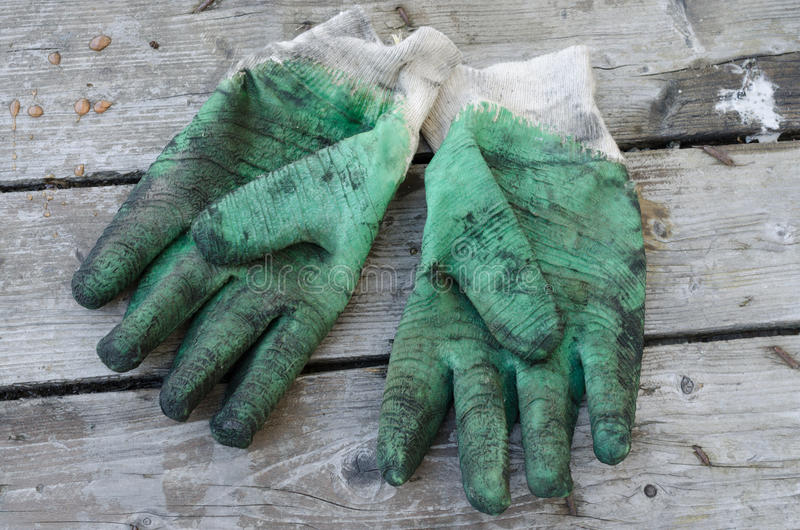 Download Used work gloves stock photo. Image of equipment, hard - 26060222