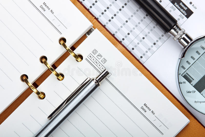 Useful Office Equipment Stock Image