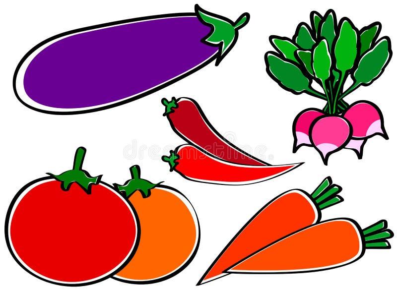 Useful vegetables stock photo