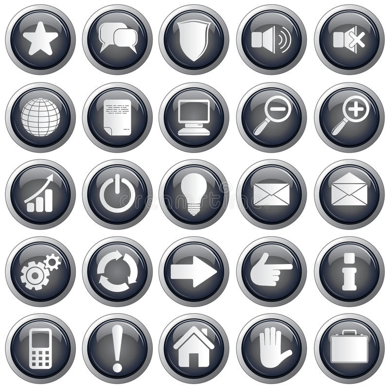 Download Useful Web Icons Stock Images - Image: 19673664