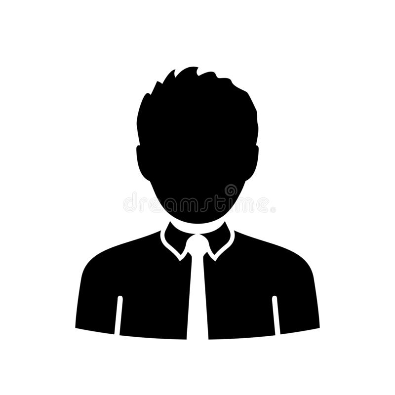User avatar icon, sign, profile symbol, flat person icon - for stock. User avatar icon, sign, profile symbol, flat person icon - stock vector royalty free illustration
