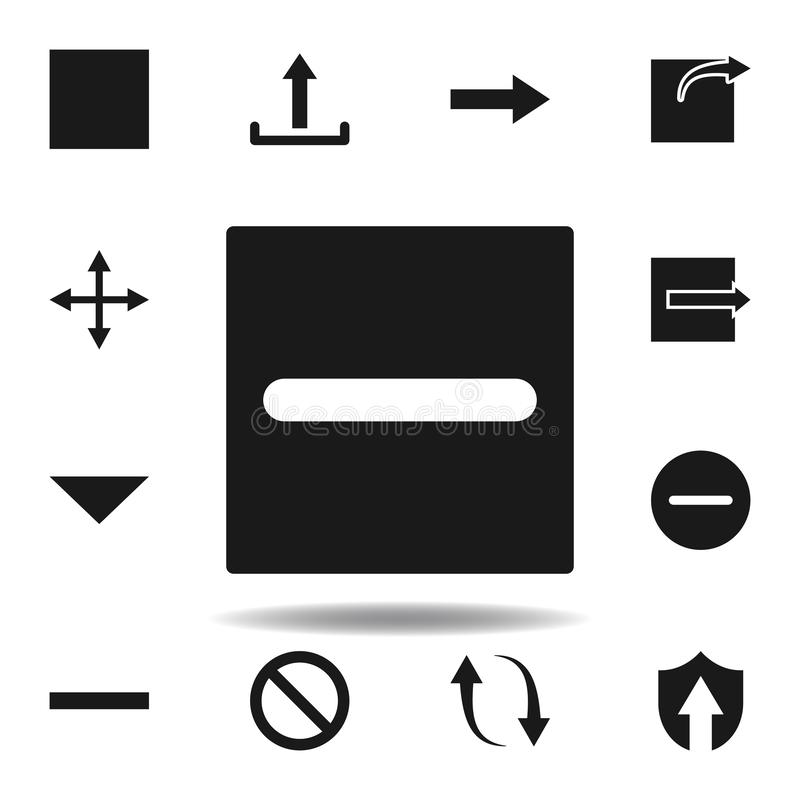 User checkbox diff icon. set of web illustration icons. signs, symbols can be used for web, logo, mobile app, UI, UX. On white background vector illustration