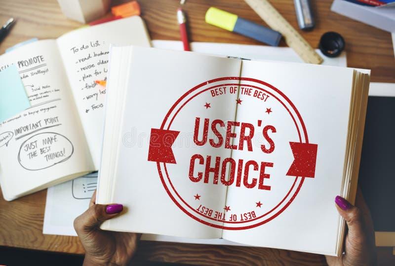 User& x27 ; concept commercial bien choisi de vendeur de mot de passe de s image libre de droits