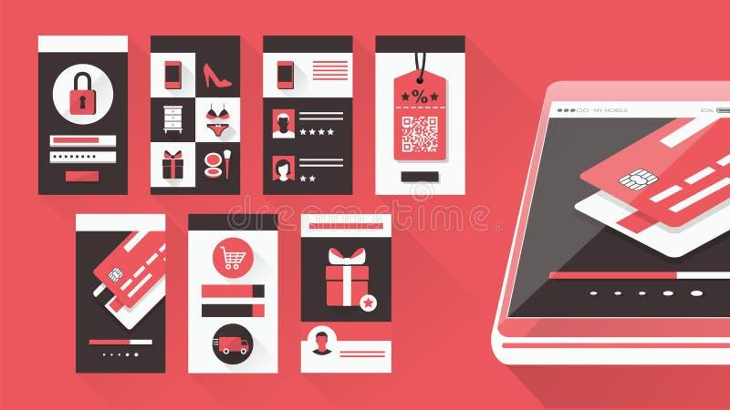 User interface vector illustration