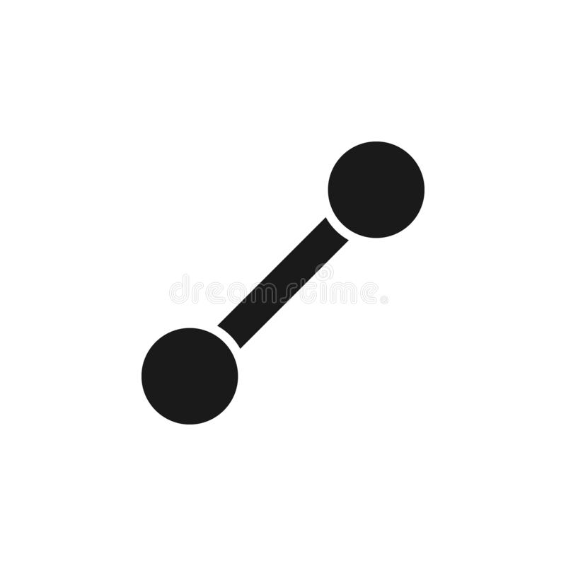 User line path icon. Signs and symbols can be used for web, logo, mobile app, UI, UX. On white background stock illustration