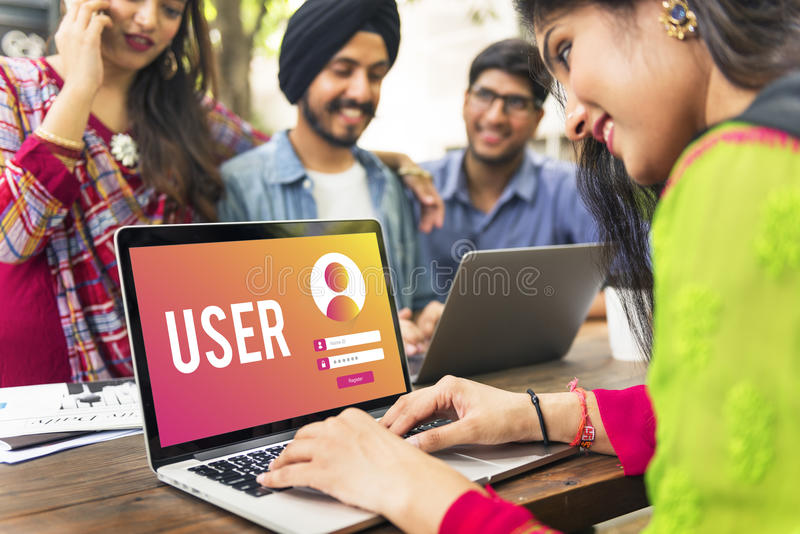 User Login Name Password Concept royalty free stock photography