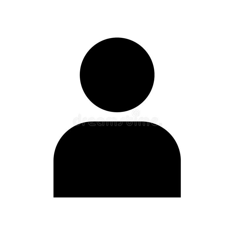 User profile icon flat vector illustration design. Isolated on white background vector illustration