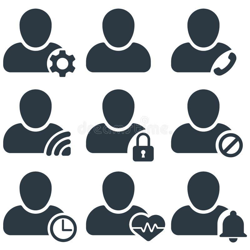 user profile status vector illustration