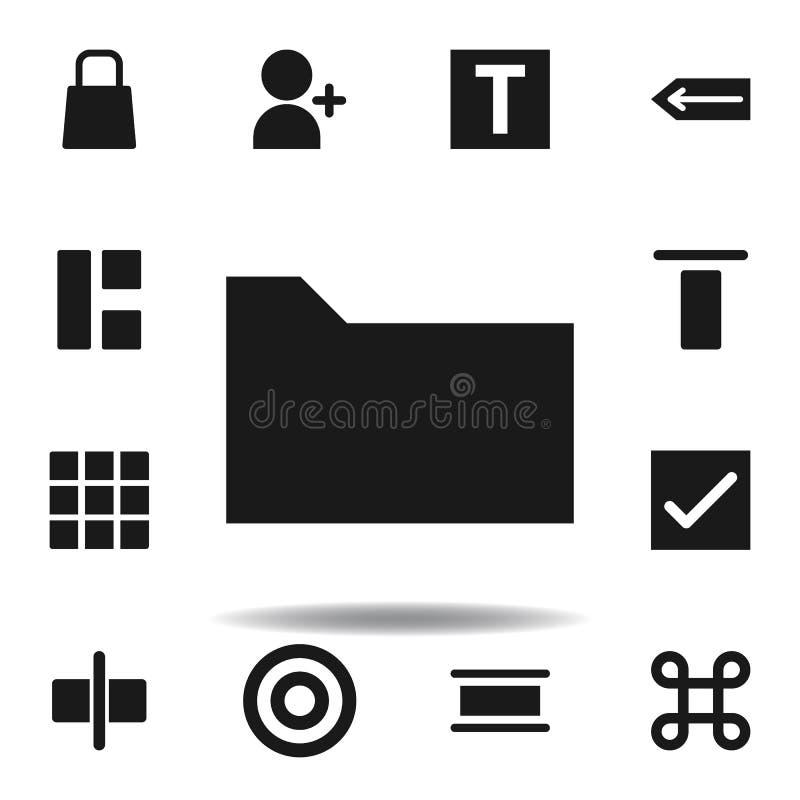 User website folder icon. set of web illustration icons. signs, symbols can be used for web, logo, mobile app, UI, UX. On white background vector illustration