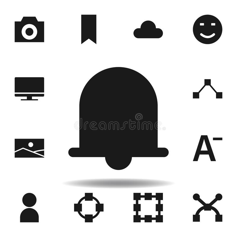 User website notification icon. set of web illustration icons. signs, symbols can be used for web, logo, mobile app, UI, UX. On white background stock illustration