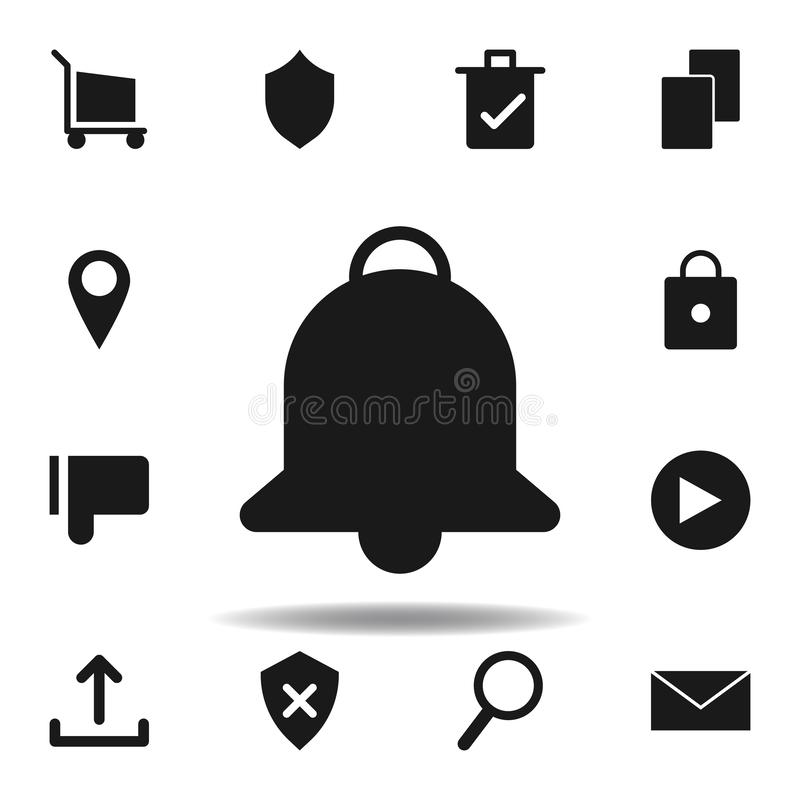 User website notification icon. set of web illustration icons. signs, symbols can be used for web, logo, mobile app, UI, UX. On white background royalty free illustration