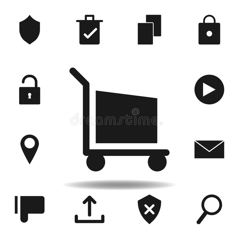 User website shopping icon. set of web illustration icons. signs, symbols can be used for web, logo, mobile app, UI, UX. On white background stock illustration