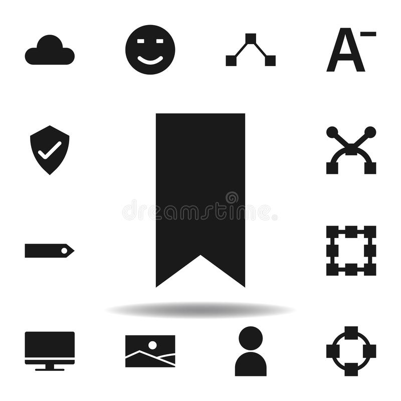 User website tag icon. set of web illustration icons. signs, symbols can be used for web, logo, mobile app, UI, UX. On white background royalty free illustration