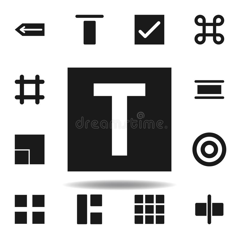 User website type icon. set of web illustration icons. signs, symbols can be used for web, logo, mobile app, UI, UX. On white background vector illustration