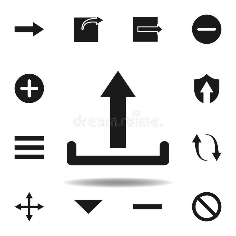 User website upload icon. set of web illustration icons. signs, symbols can be used for web, logo, mobile app, UI, UX. On white background vector illustration