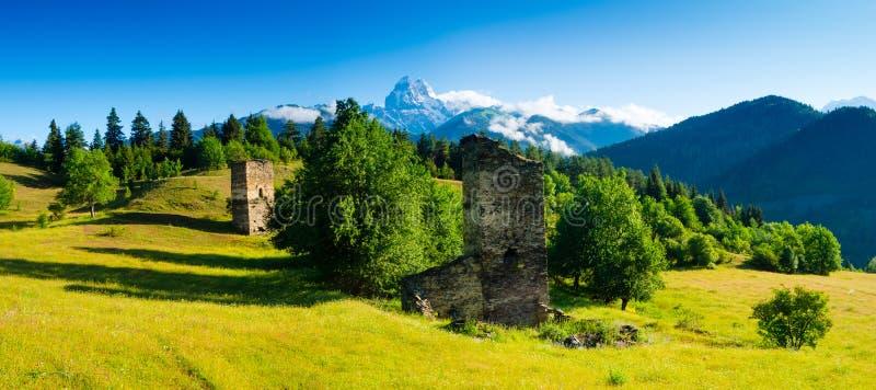 Download Ushba mountain stock image. Image of svaneti, georgia - 35001401