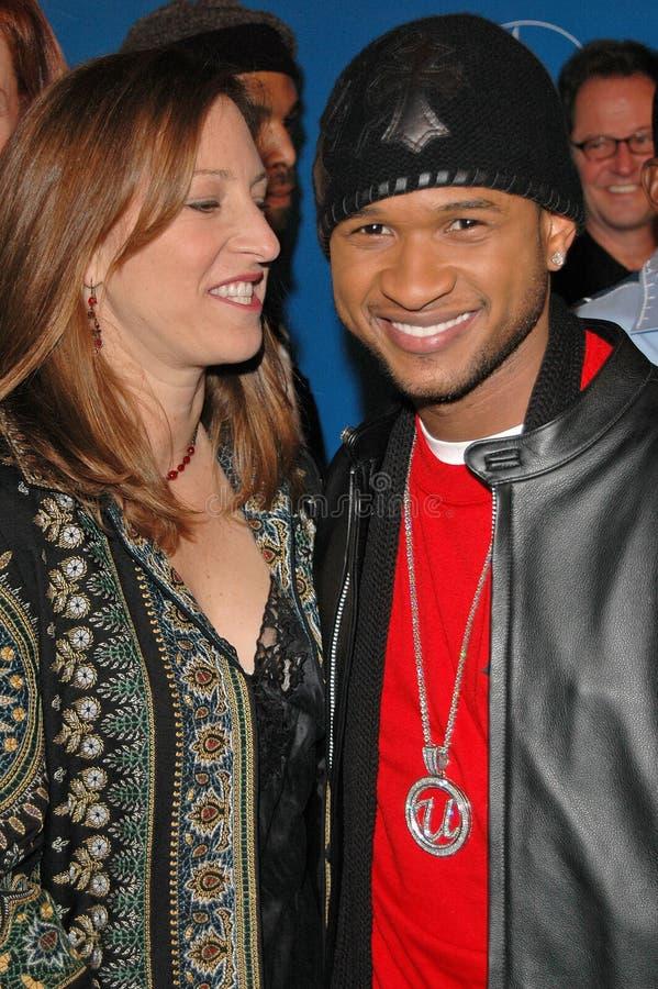 Usher, ziemia, wiatr & ogień, Lizzy Moore obraz stock