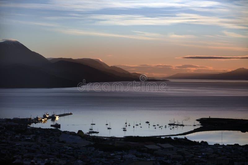 ushuaia καναλιών λαγωνικών της &Alpha στοκ εικόνα με δικαίωμα ελεύθερης χρήσης