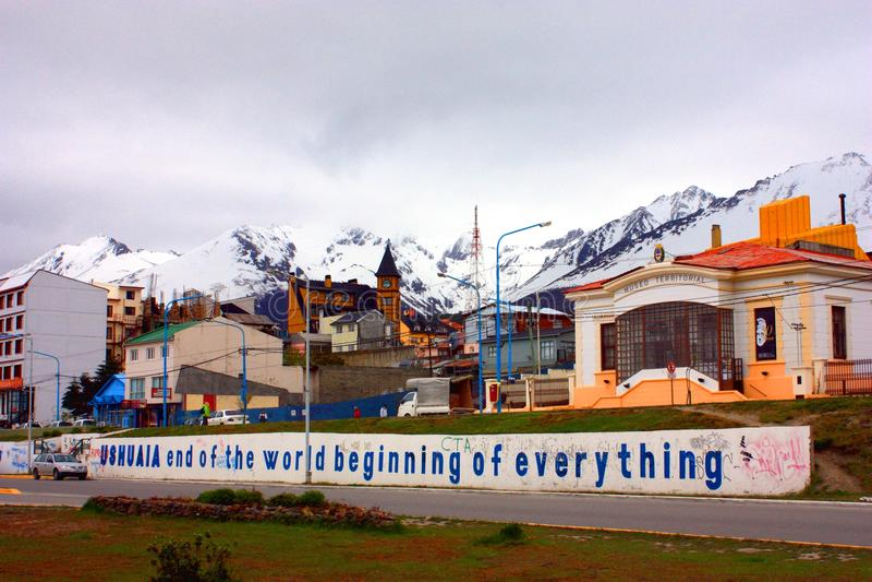 Ushuaia imagem de stock royalty free