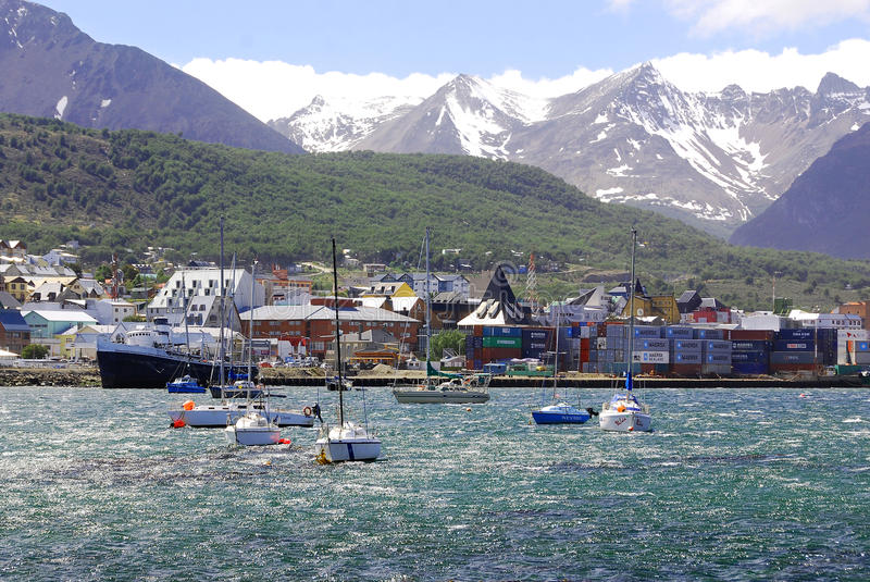 Download Ushuaia editorial image. Image of construction, roof - 26912115