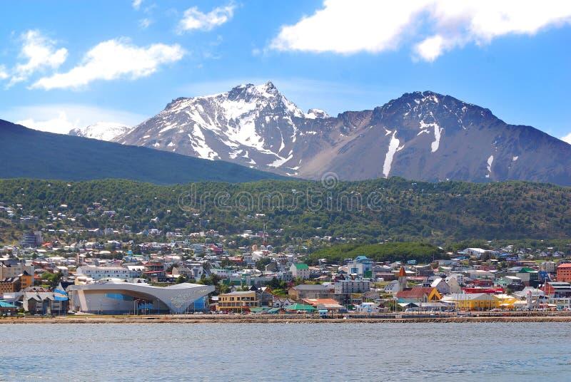 Ushuaia fotografia de stock royalty free