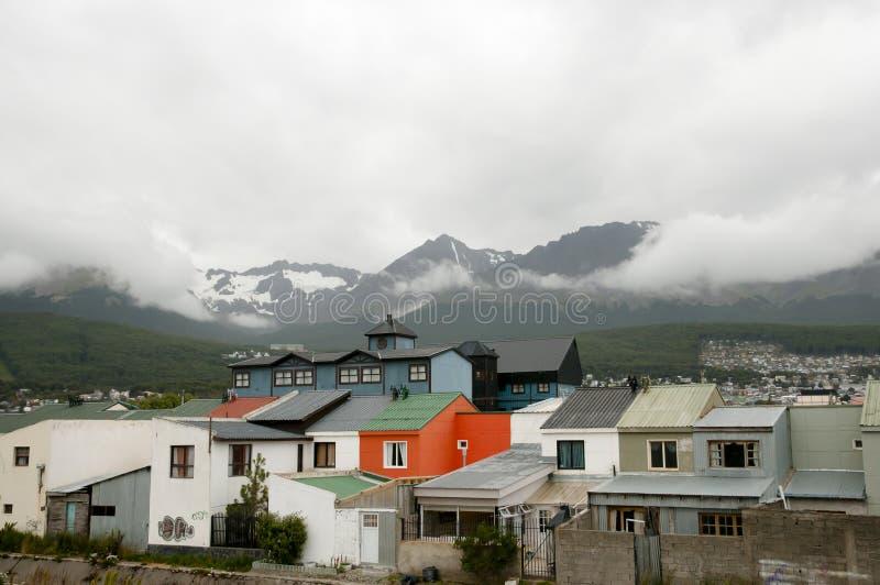 Ushuaia - Argentina imagens de stock