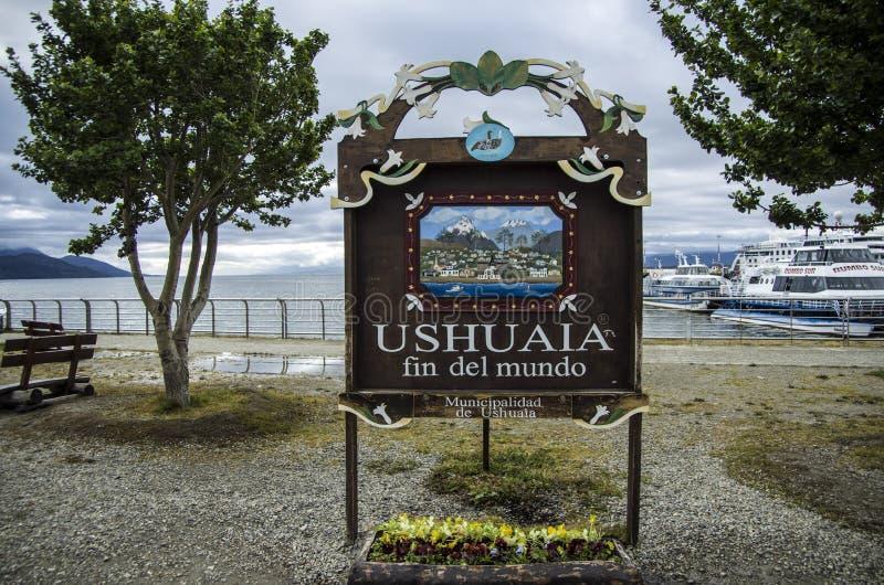 Ushuaia, Argentinië royalty-vrije stock foto's