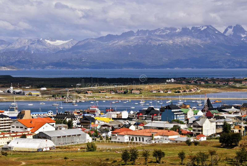 Ushuaia, Argentinien lizenzfreies stockfoto