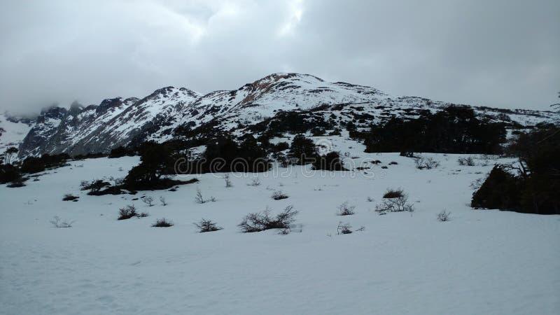 Ushuaia góra zdjęcie stock
