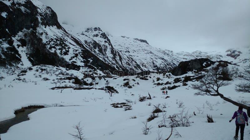 Ushuaia góra zdjęcia stock