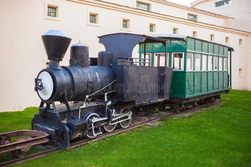 Ushuaia Maritime Museum, Argentina. Old trains near the Ushuaia Maritime Museum (Museo Maritimo de Ushuaia). Ushuaia is the capital of Tierra del Fuego in stock photos