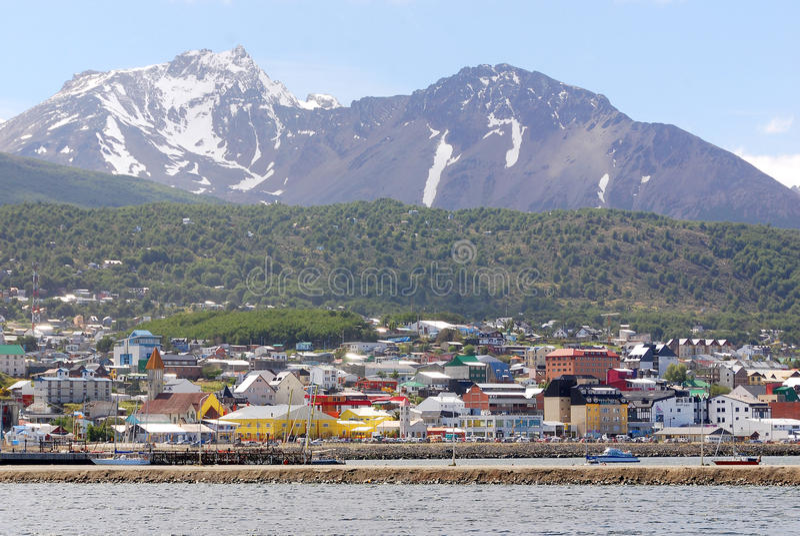 Ushuaia schronienie zdjęcia royalty free