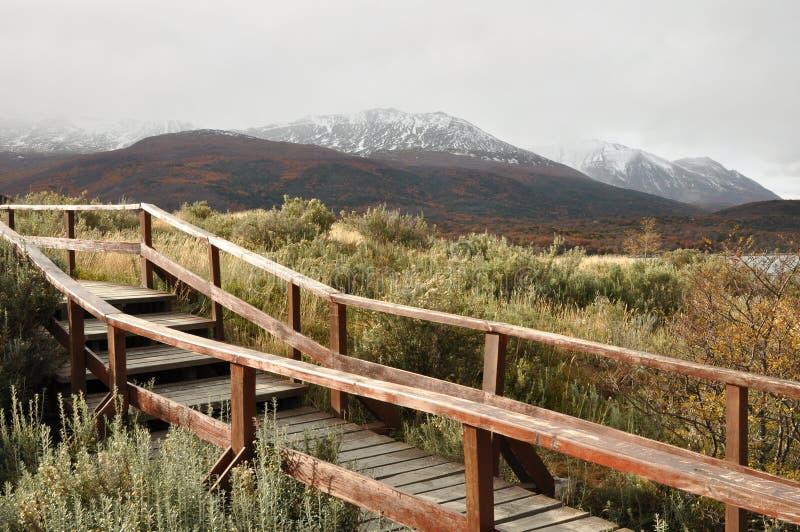 Ushuaia, Tierra del Fuego fotos de stock