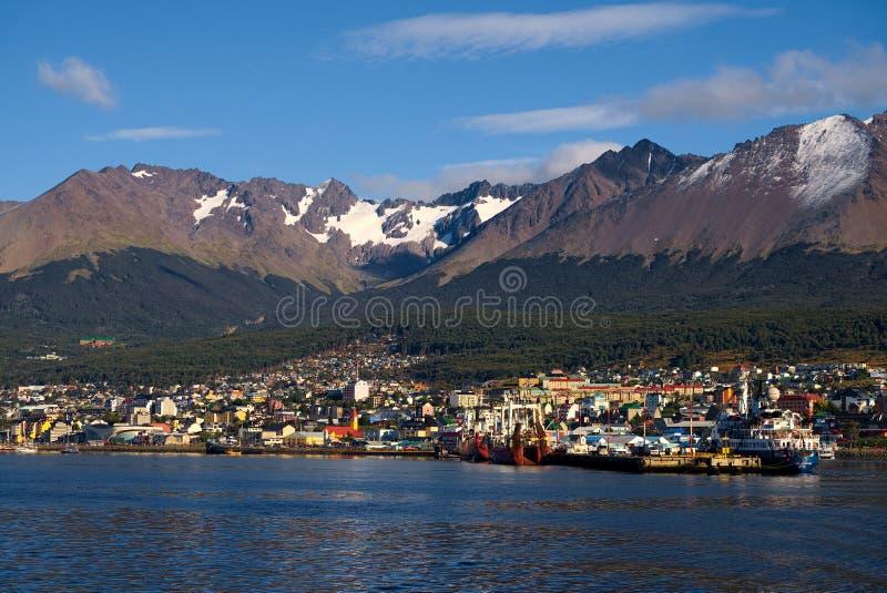 Ushuaia, Tierra Del Fuego, Argentyna obrazy stock