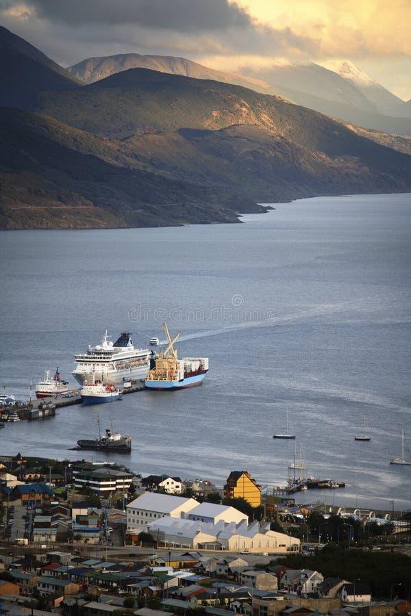 Ushuaia - Tierra Del Fuego - Patagonia - Argentina fotos de stock royalty free