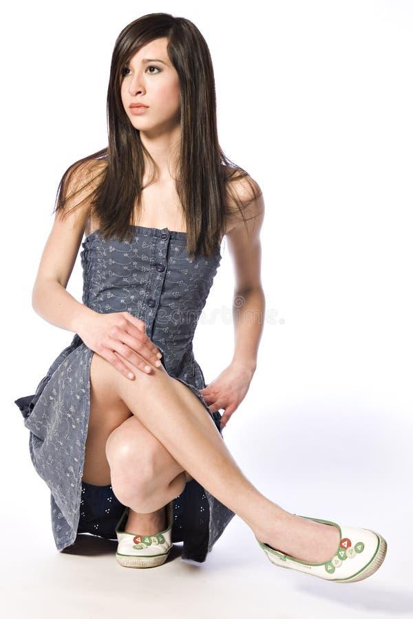usiądź mody zdjęcie royalty free