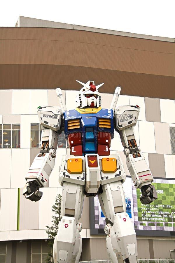 Usi il film del ` pronto del giocatore uno del ` Gundam a grandezza naturale fotografia stock
