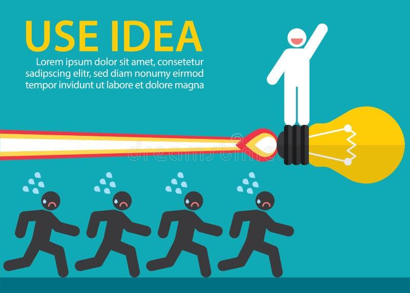 Usi l'idea creativa royalty illustrazione gratis
